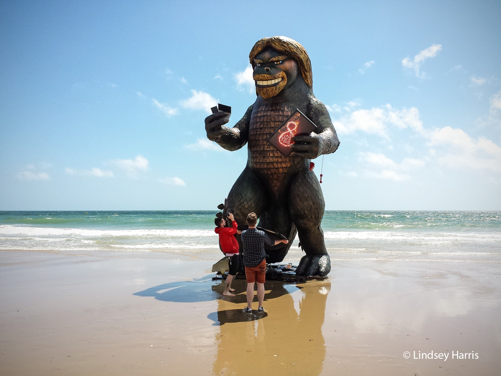 #BigKahunaSpotted - Richard Branson 'monster' on Bournemouth beach, June 2014. .