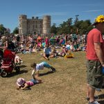 Camp Bestival, Lulworth, Dorset, 2014.