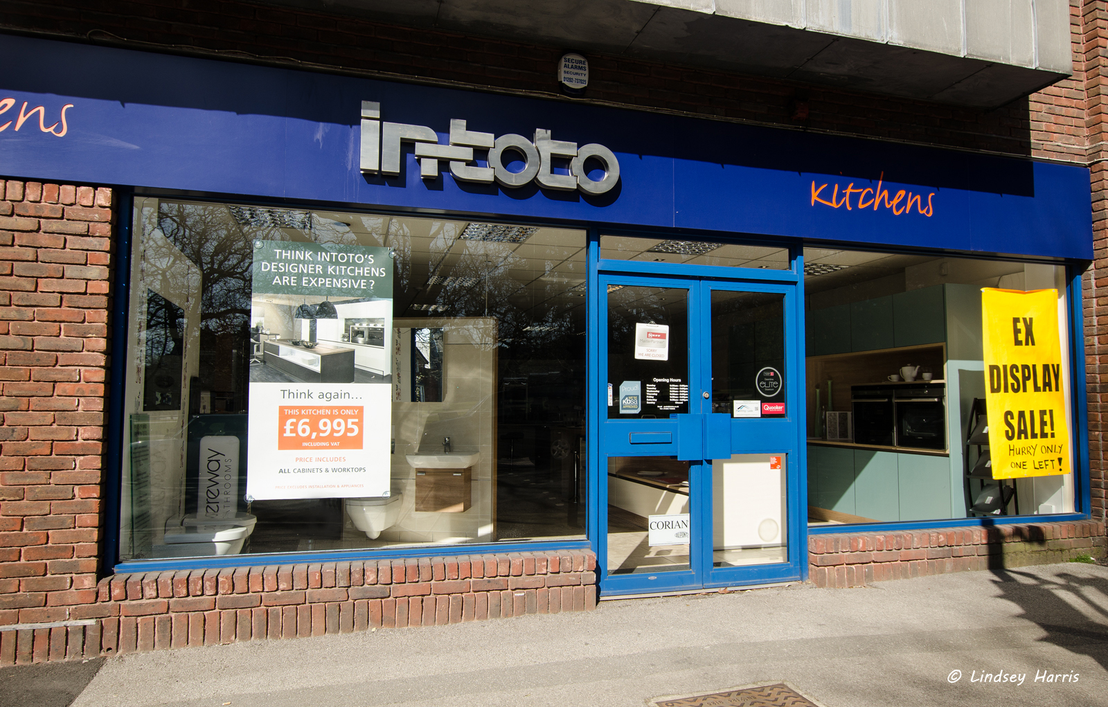 Intoto Kitchens, Lower Parkstone, Poole, Dorset.