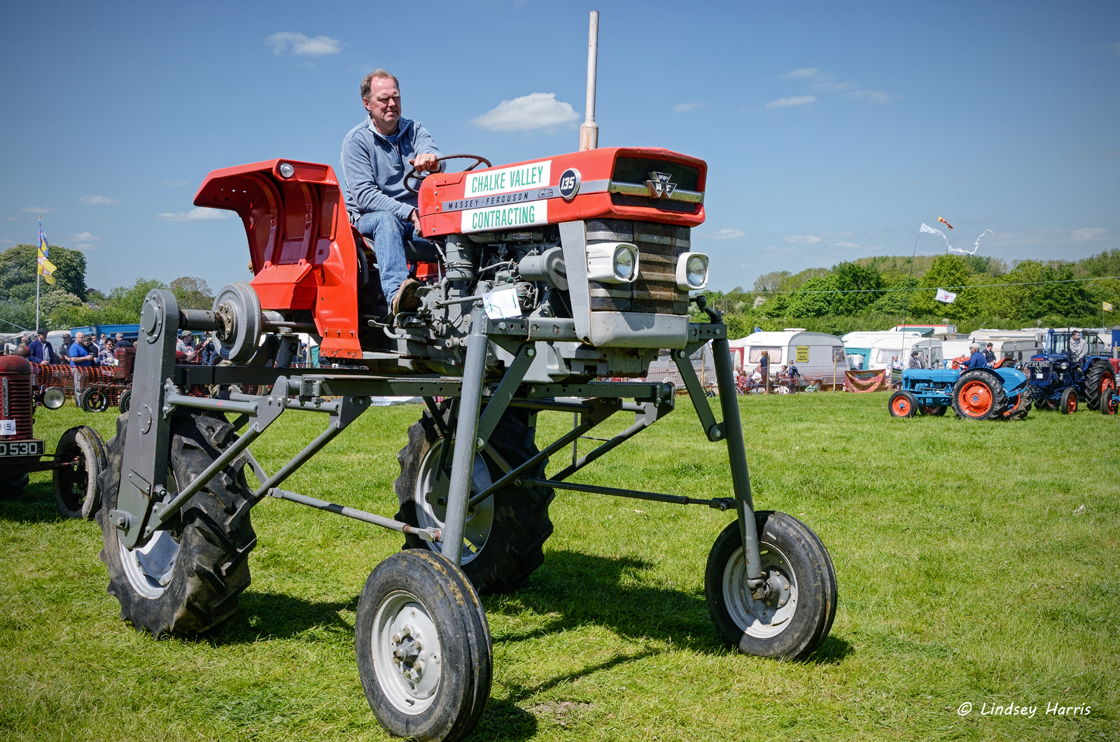 Steam tractors - Steam Rally, Dorset, 2015