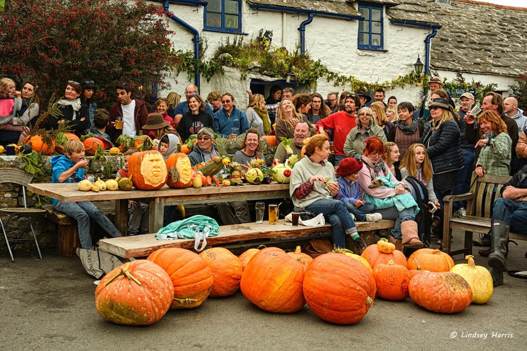 Pumpkin & Beer Festival, Square & Compass, Worth Matravers, Dorset