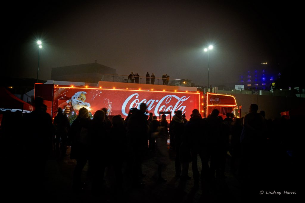 Coca-Cola Lorry at Pier Approach, Bournemouth