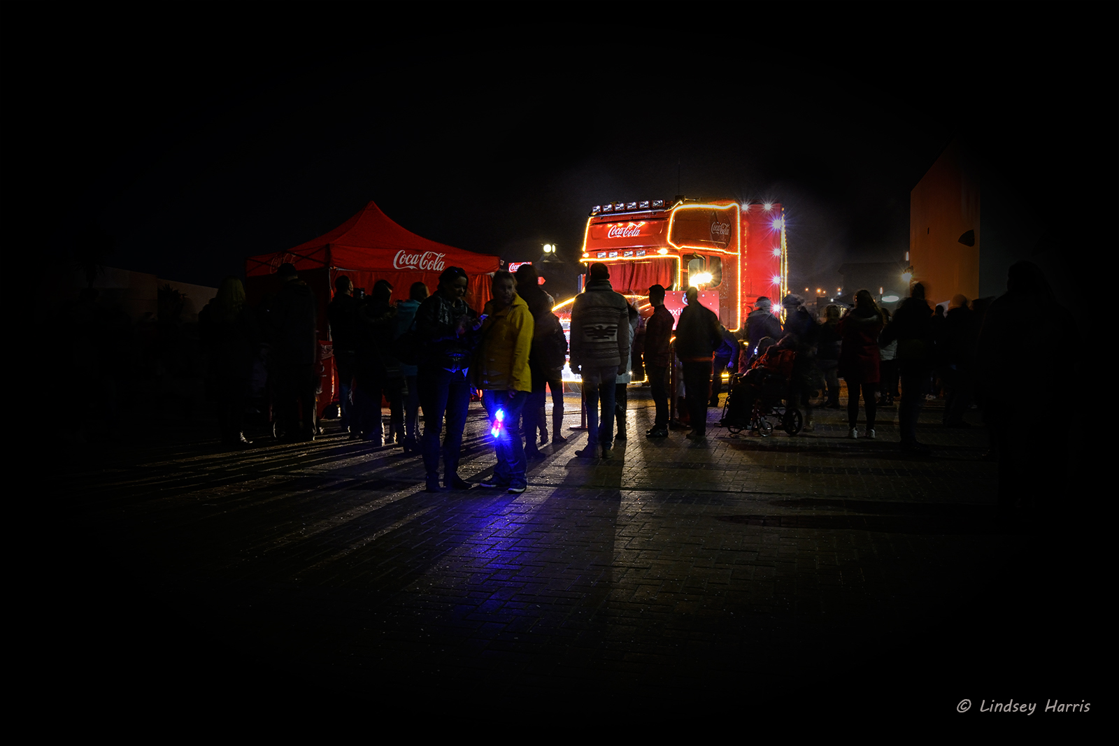The Coca-Cola Lorry Comes to Bournemouth