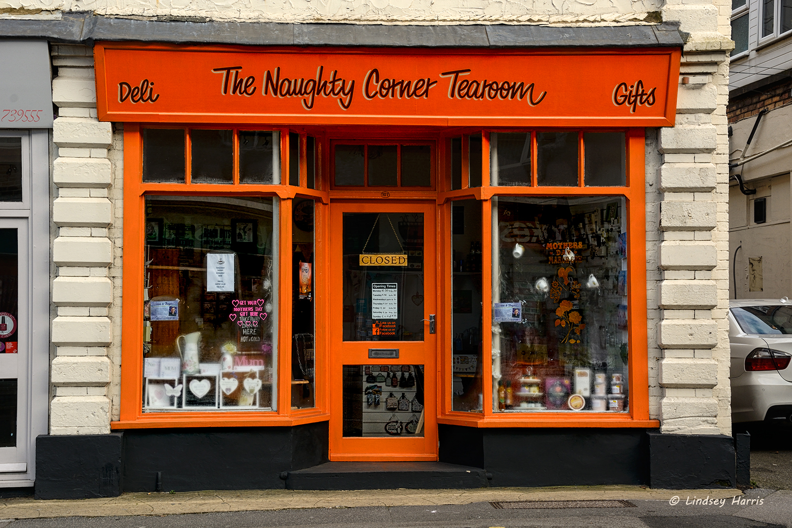 The Naughty Corner Tea Room, Commercial Road, Lower Parkstone