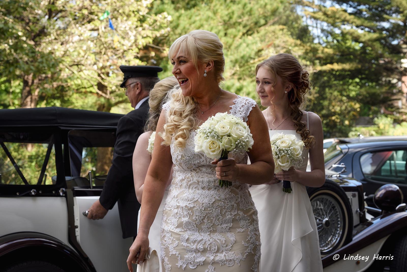 Wedding photographs taken at Westbourne, Dorset.