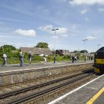 The first train from Swanage to Wareham in 45 years!