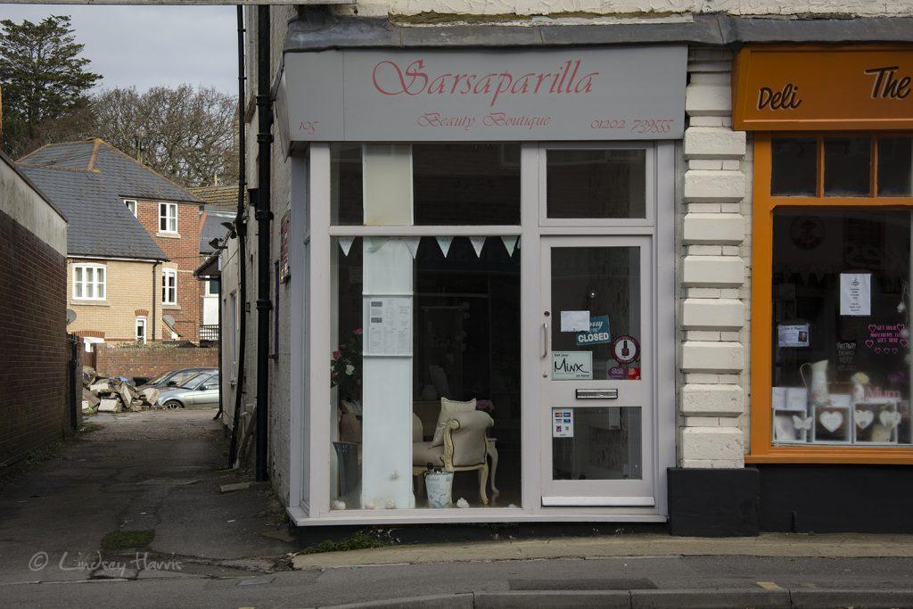 Sarsaparilla Beauty Boutique, Lower Parkstone