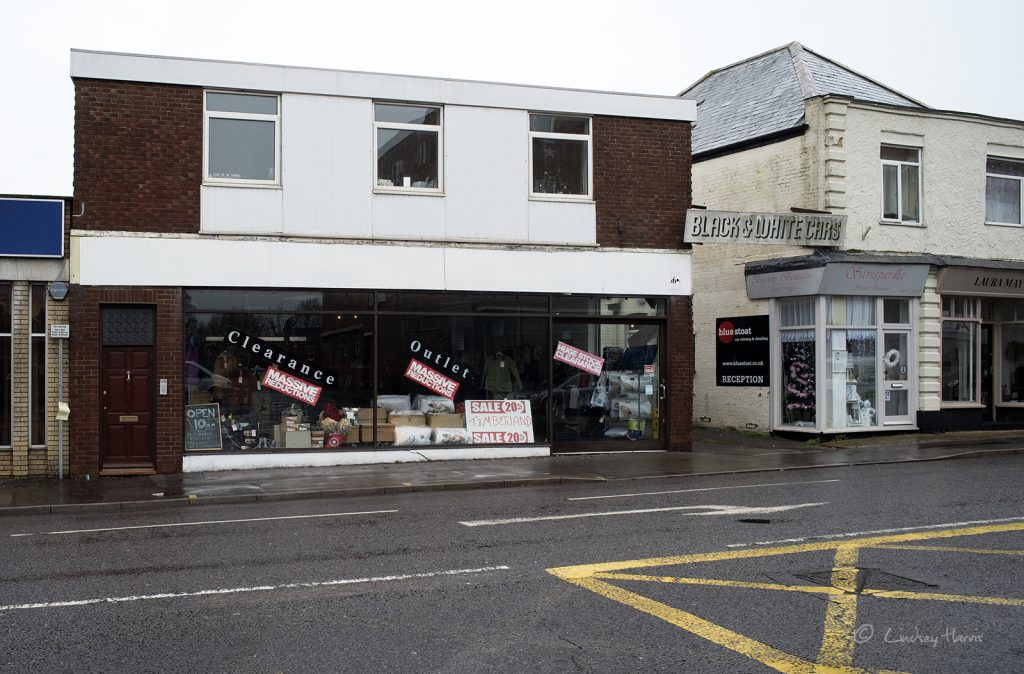 Clearance outlet, Lower Parkstone.