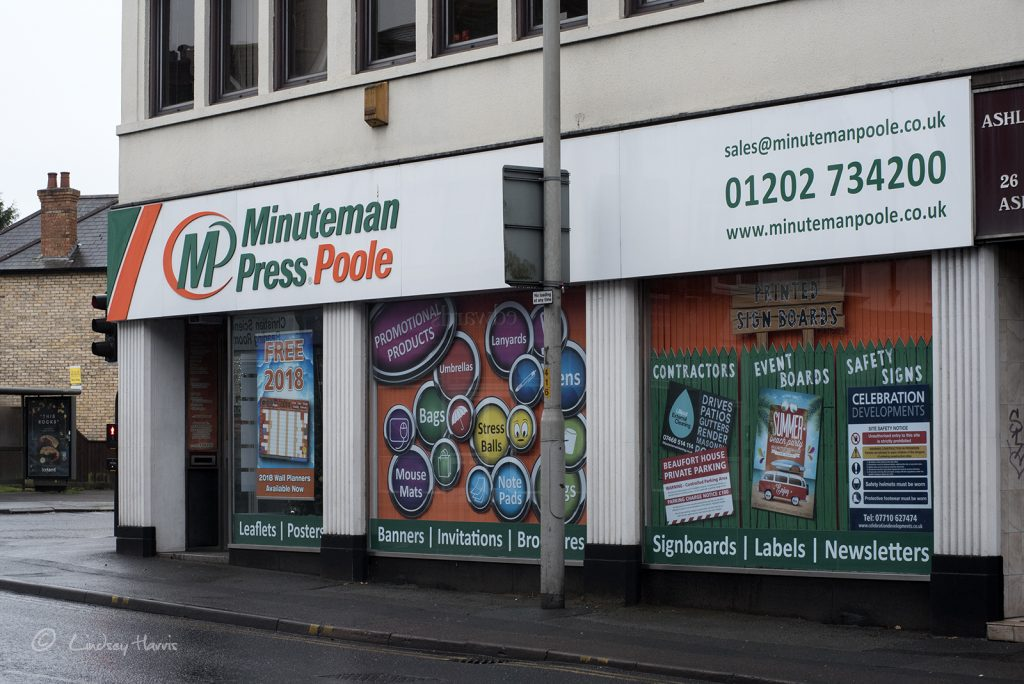 Minuteman Press, Poole.