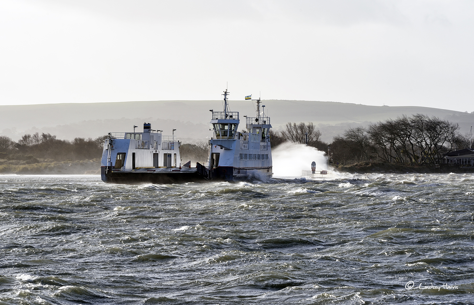 Storm Eleanor at Poole – January 2018