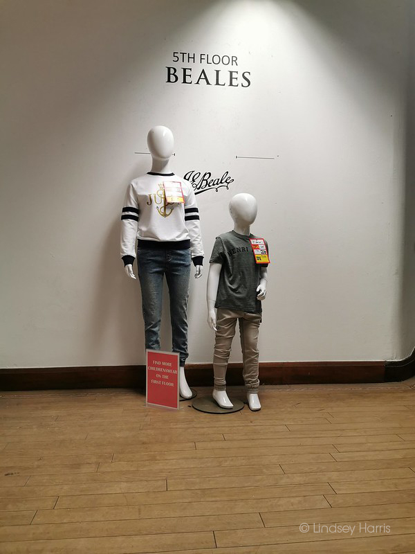 Beales Bournemouth - closes for the last time after 139 years of trading.