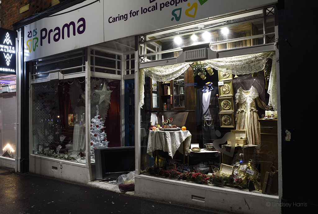 Prama charity shop, Lower Parkstone.