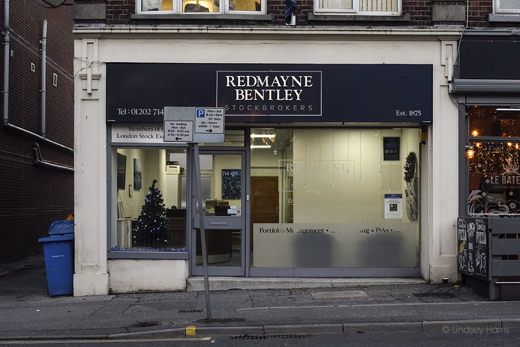 Redmayne Bentley Stockbrokers, Lower Parkstone