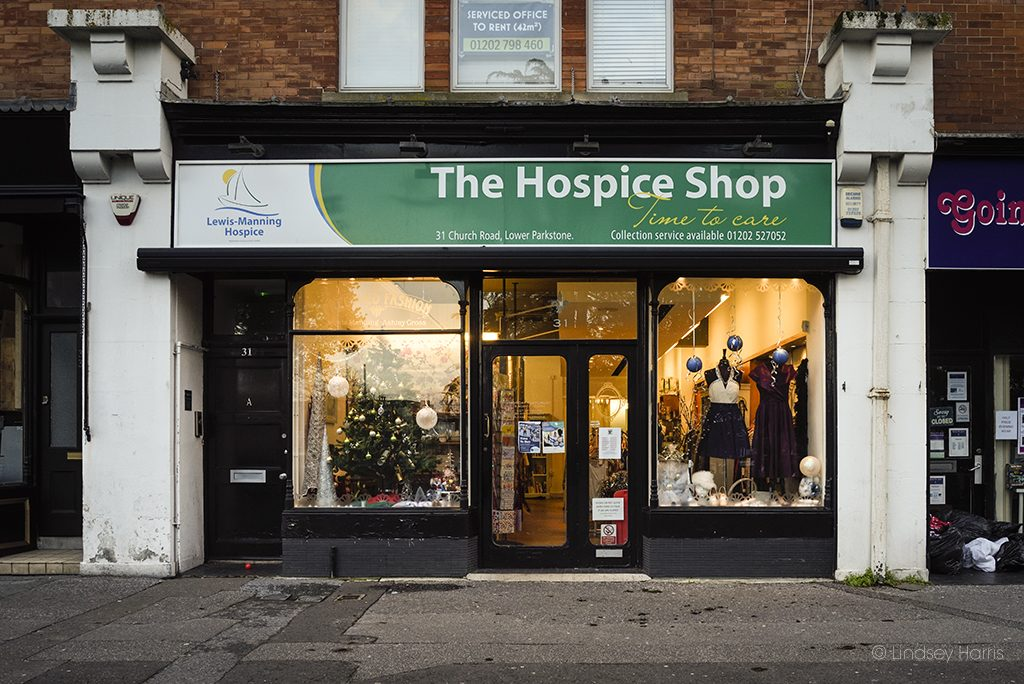 The Hospice Shop, December 2018.