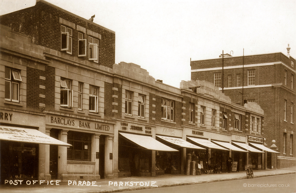 Photo of Bournemouth Road, Lower Parkstone @1930.