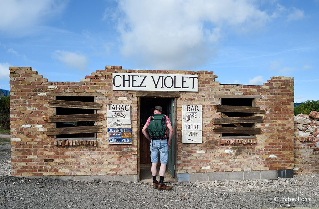 'Chez Violet'. WW2 bar at the Great Dorset Steam Fair 2019.