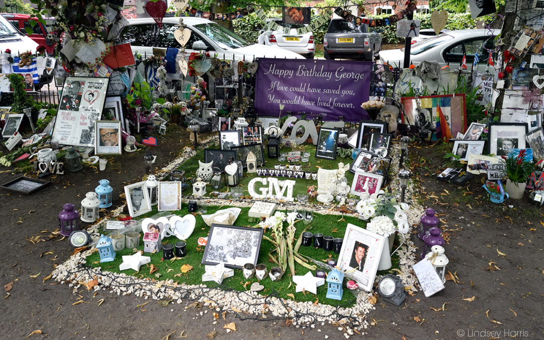 George Michael Memorial Garden, Highgate