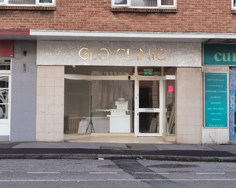 Coming soon - the Glo Clinic, Lower Parkstone.