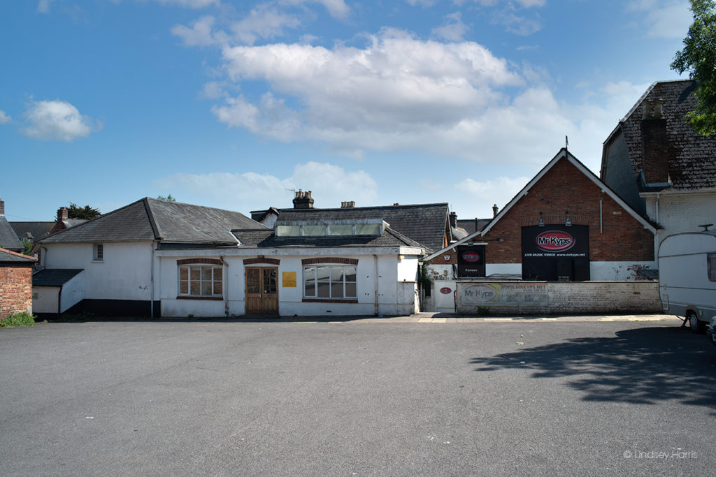 Mr Kyps music venue. formerly of Parr Street, Lower Parkstone, Poole