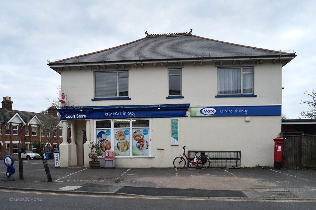 Court Stores & Post Office, Sandbanks Road, Lower Parkstone.