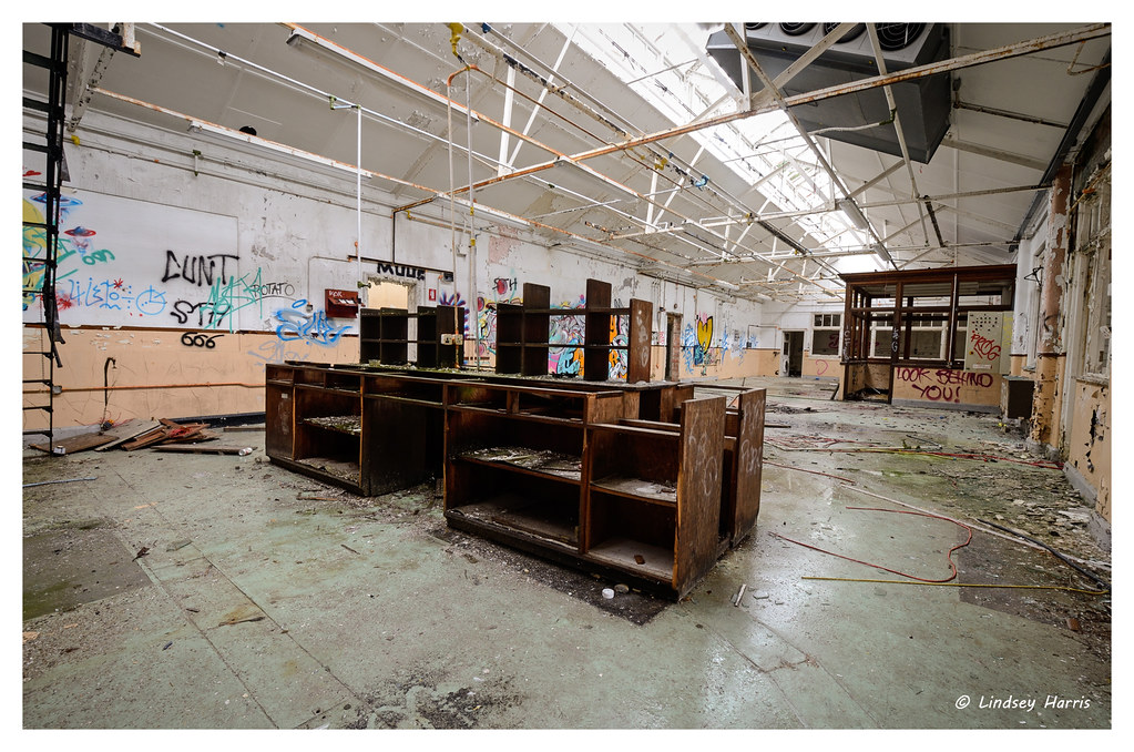 Old chemical labs, Dorset.