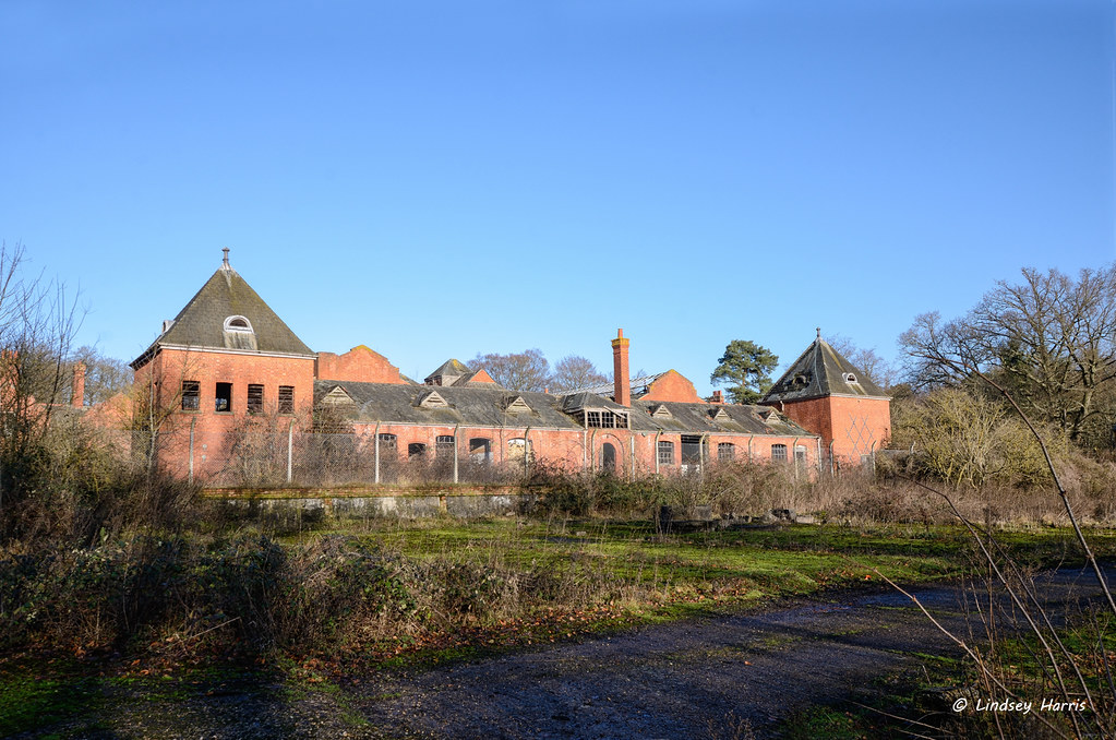The Turret House, derelict farm.