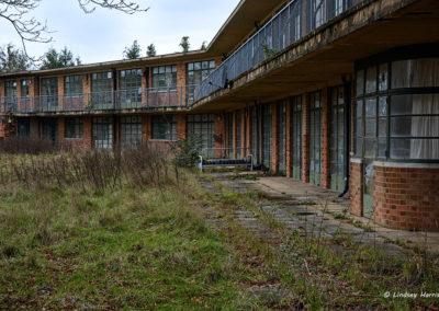 Derelict Sanatorium, New Forest