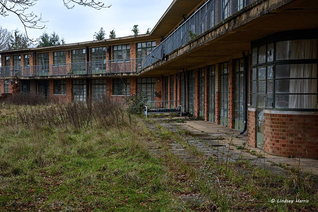 Abandoned sanatorium, New Forest.