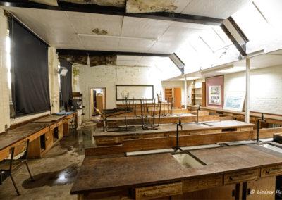 Derelict School, Dorset