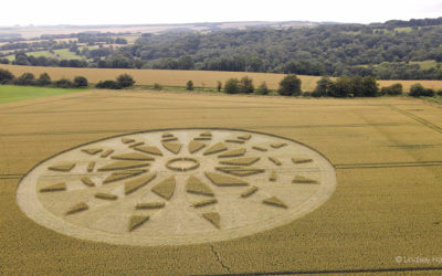 Giant Crop Circle, North Dorset