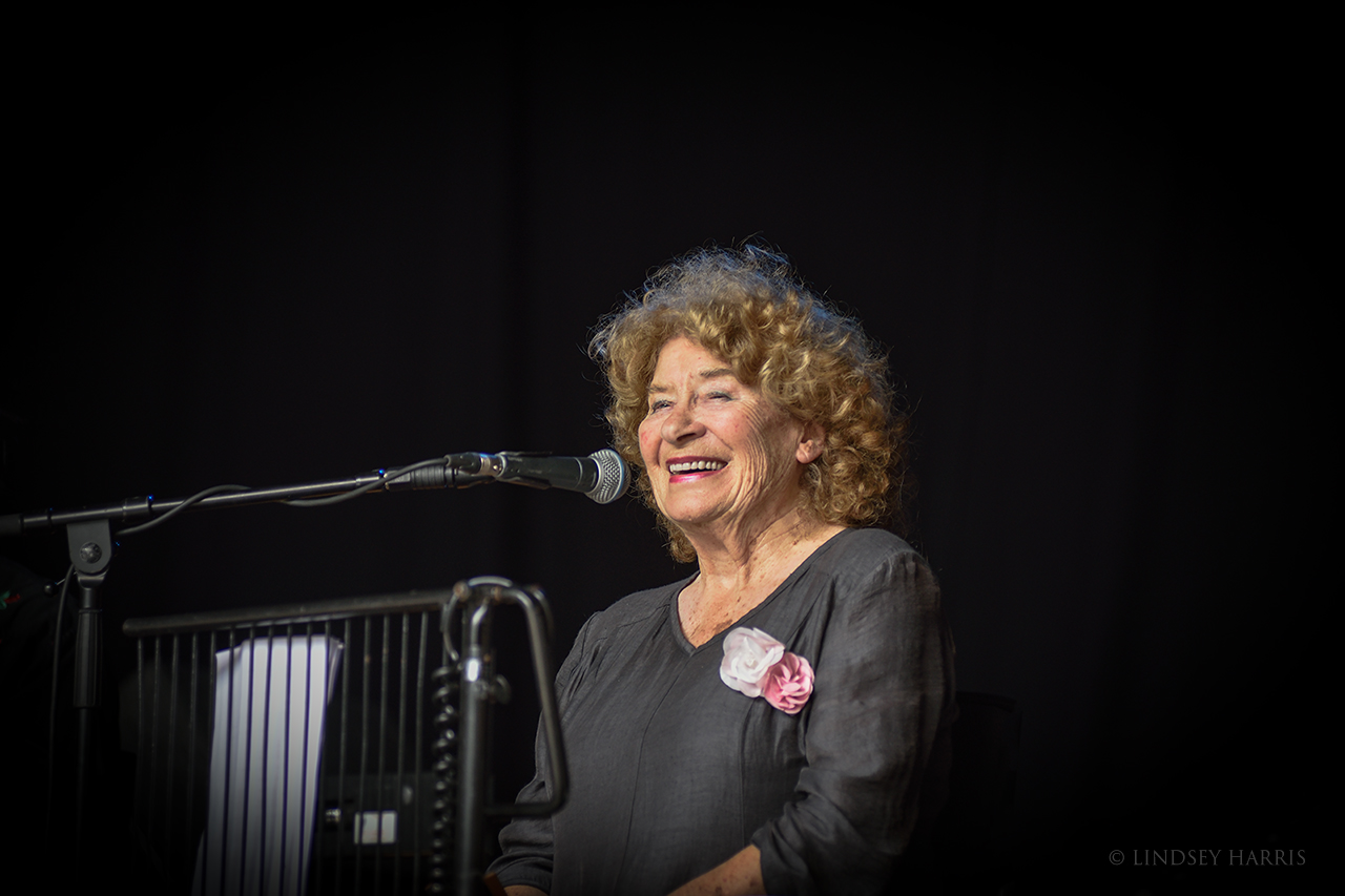 Shirley Collins at End of the Road 2021.