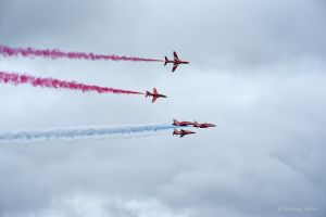 The Red Arrows - 21st August 2016