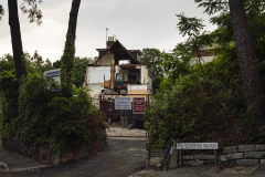 15 Alton Road, Parkstone - during demolition. 27th June 2016.