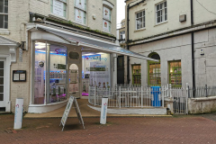 Deserted Bournemouth shops - 19th March 2020.
