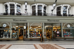 A deserted Waterstone's in Bournemouth. Just one or two customers in there.