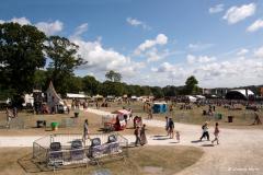 Camp Bestival, Lulworth, 2014.