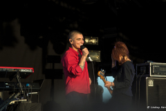 Sinead O'Connor at Camp Bestival, Lulworth, 2014.