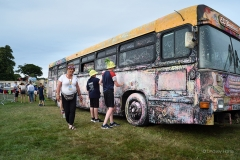 The chalk bus.