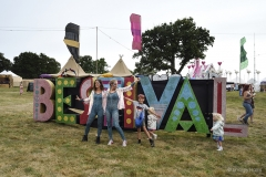 'Bestival' sign at Camp Bestival.