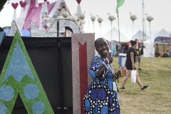 At Camp Bestival 2019.