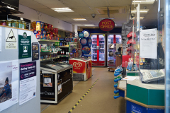 The inside of Courts, Sandbanks Road, Poole - 21st March 2021.