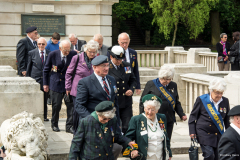 Remembering D-Day 70 years on, Bournemouth Gardens - 6th June 2014.