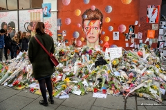 David Bowie: 1947 - 2016 | Brixton Memorial.