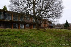 Derelict rest home, New Forest.