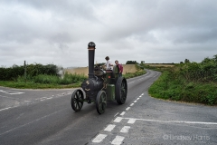 Traction engine en route from Drusilla's Inn to the 2018 GDSF showground.