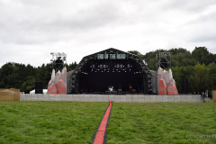 End Of The Road Festival 2021. Preparing one of the stages.