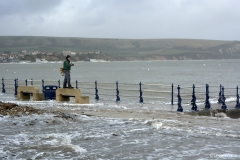 Swanage storms, February 2014.