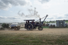 Traction engine at the 2018 Great Dorset Steam Fair.