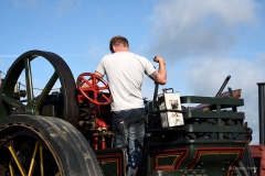 Traction engine at the 2019 Great Dorset Steam Fair.