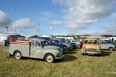 Morris Minors at the Great Dorset Steam Fair 2019.